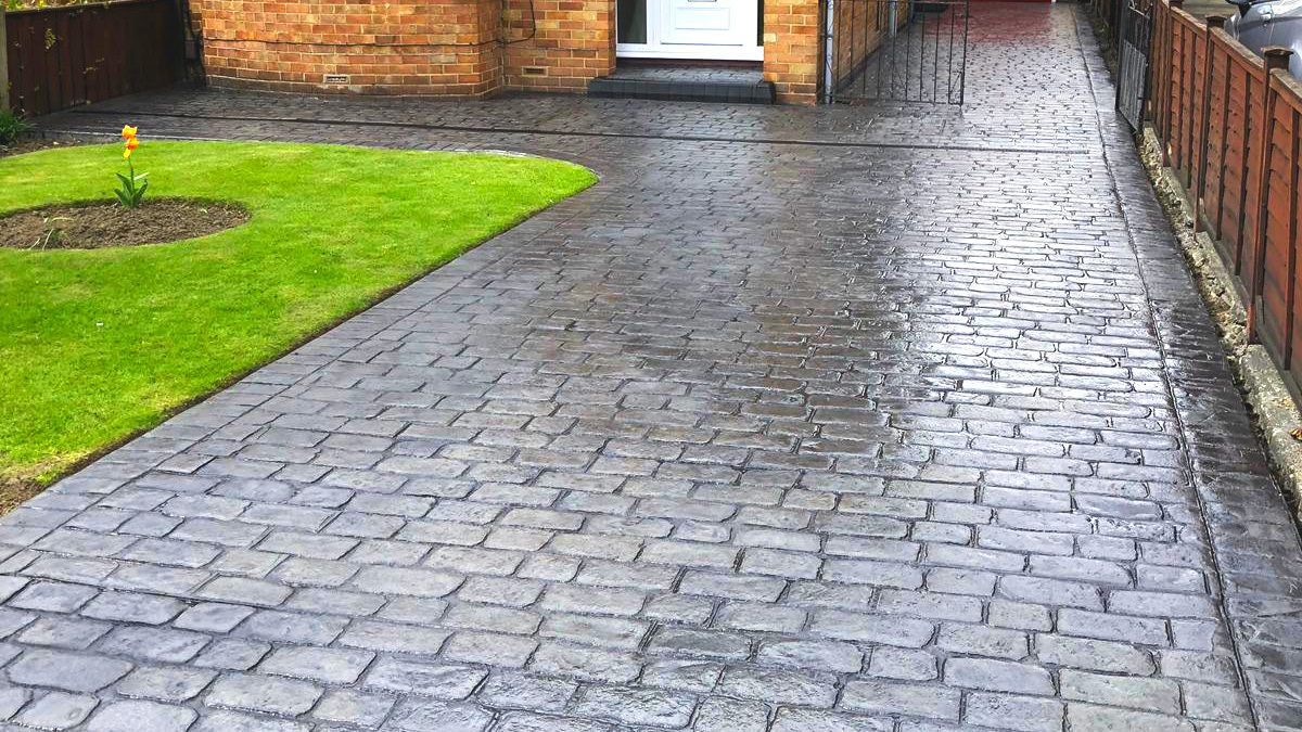 Colour Print Driveways